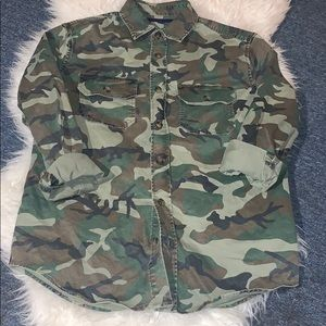 Army fatigue men's shirt brand new but no tags